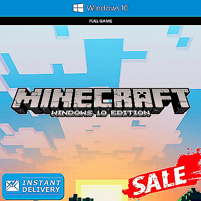 Minecraft Windows 10 Edition Activation Key  PC  Instant Delivery