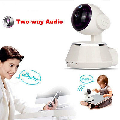 360 WIFI IP Camera Baby Monitor 720P Security Network CCTV Night Vision Webcam