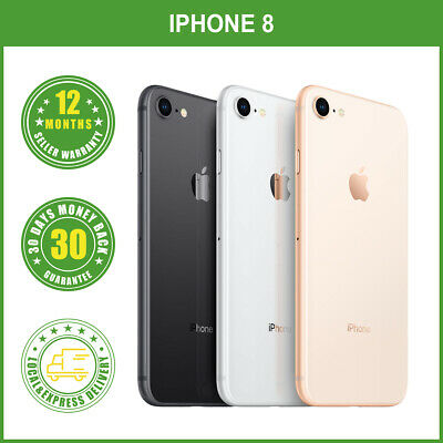 Brand New Sealed Box Apple iPhone 8 64256GB  Factory Unlocked LOCAL DELIVERY