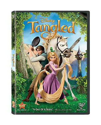 Tangled DVD 2011 New Free Shipping