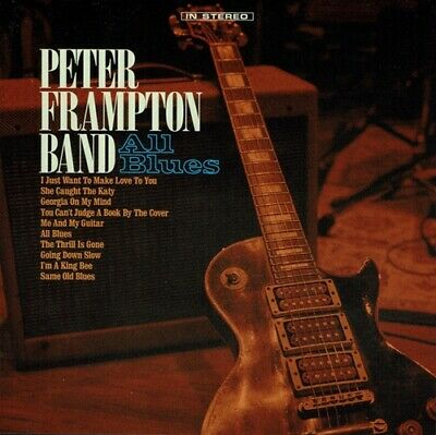 Peter Frampton Band ‎CD All Blues 2019 New Release
