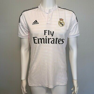 Adidas Real Madrid 201415 Home Soccer Jersey Mens Small Authentic
