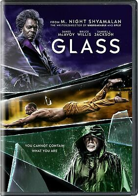 Glass DVD James McAvoy NEW