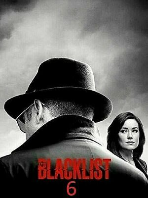 The Blacklist Complete Season 6 DVD 5-Disc Set Brand New - SHIPPING NOW