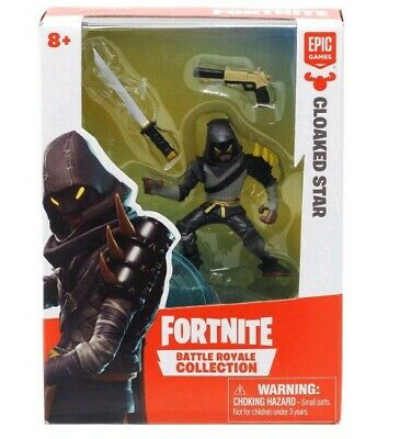 NIB Fortnite Battle Royale Collection  066 CLOAKED STAR Moose Toys 2019 FIGURE