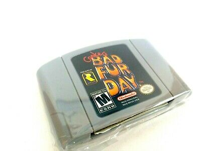 Conkers Bad Fur Day Nnintendo 64