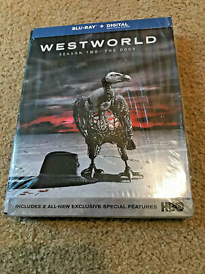 Westworld Season 2 Second The Door Blu-ray Slipcover FAST FREE SHIP