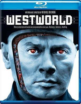 Westworld Blu-ray Disc 2013  Yul Brynner James Brolin New