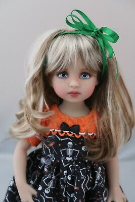 Darling New Wig for Dianna Effner Little Darling doll Shaine Blondie Curls