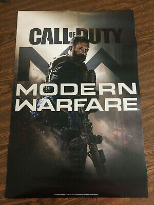 Call of Duty Modern Warfare Double or Two Sided Poster 18x27 Free shipping