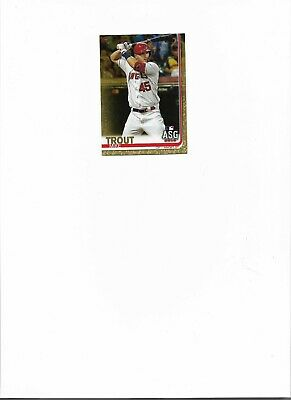 2019 Topps Update GOLD Parallel d to 2019 You PickChoose Card SPECIAL