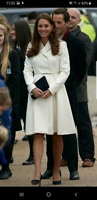 Max Mara Coat Virgin Wool Kate Middleton Long Line Coat