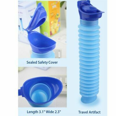 Portable Urinal Mini Toilet Foldable Pee Tool For Camp Hiking Travel Women Men
