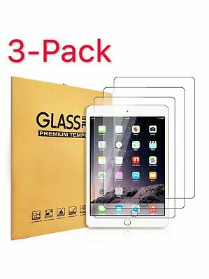 3x Tempered GLASS Screen Protector For iPad 9-7 2 Mini 4 Pro Air 3rd 4th 5th 6th