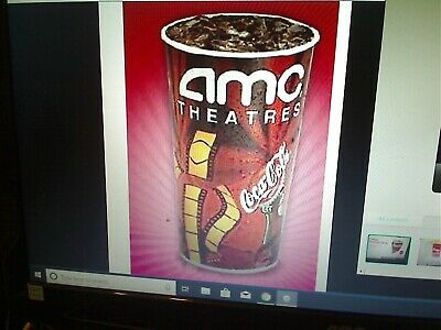 AMC Theatres 1 Large Fountain Drink Theater Soda  Exp 62020  E-Delivery
