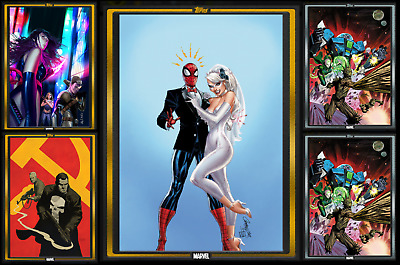 TOPPS MARVEL COLLECT CARD TRADER COMIC BOOK DAY NOV- 15  3 GOLD - 2 SILVER