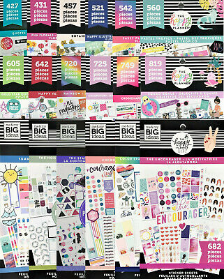Me - My Big Ideas Create 365 The Happy Planner Stickers Value Pack - YOU Choose