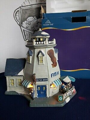 2006 Blue Waters Collection Lobster Shack Lighthouse Nautical boat