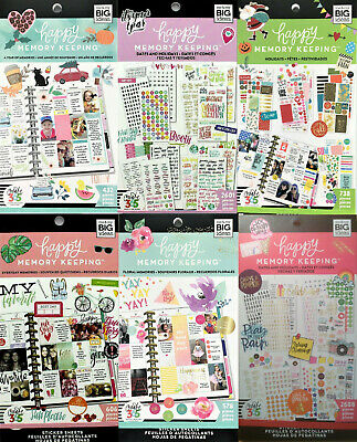 Me - My Big Ideas Create 365 Happy Memory Keeping Stickers Value Pack YOU Choose