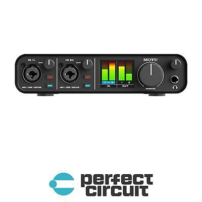 MOTU M2 2-In  2-Out USB Audio Interface PRO AUDIO - NEW - PERFECT CIRCUIT