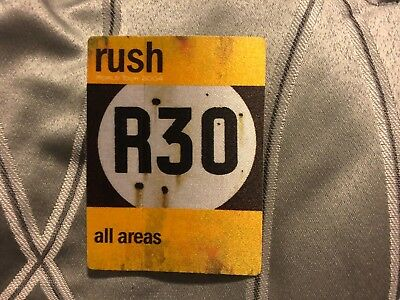 Rush - R30 - All Access Pass - Yellow