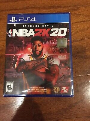 NBA 2K20 PS4 PlayStation 4 PS 4 New in sealed box  Free Fast Shipping