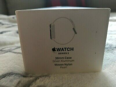 Apple Watch Series 2 38mm Silver Aluminum Sport Band Box Only