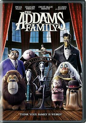 The Addams Family DVD 2019 NEW Animation FREE SHIPPING