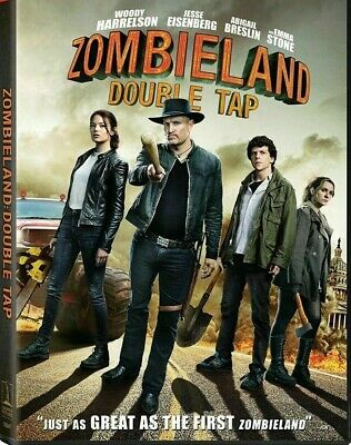 Zombieland Double Tap DVD 2019 NEW  FREE SHIPPING