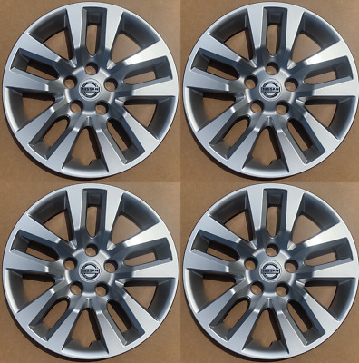 4 NEW 16 Silver Hubcap Wheelcover that FIT 2006-2019 Nissan ALTIMA hub cap