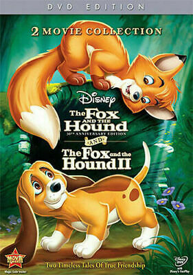 The Fox and the HoundThe Fox and the Hound II DVD 2011 2-Disc Set FREE SH