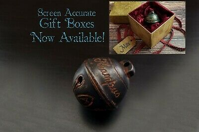 Krampus Bell - Cursed Jingle Bell Replica - Optional Gift Box - Made from Metal