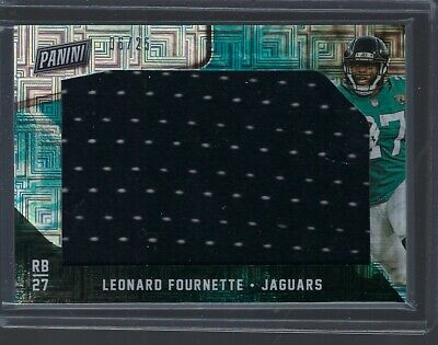 2018 Black Friday Leonard Fournette Large Single Color Patch 625