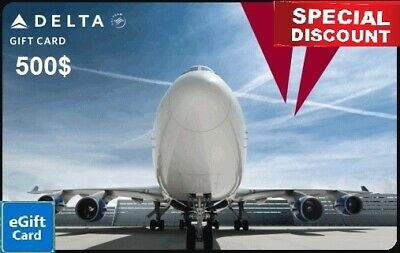 Delta Airlines 500 Gift card - Fast Delivery