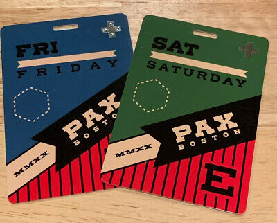 PAX East 2020 2 Day Badges Friday and Saturday- In Hand SHIP NEXT DAY