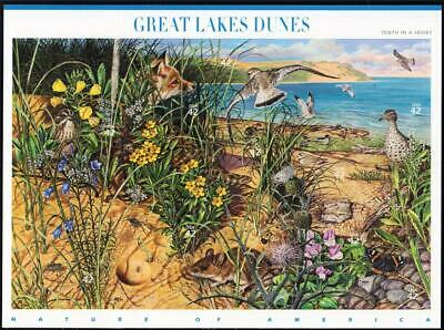 Sc 4352  GREAT LAKES DUNES Souvenir sheet of 10 MNH  in USPS wrapping- -