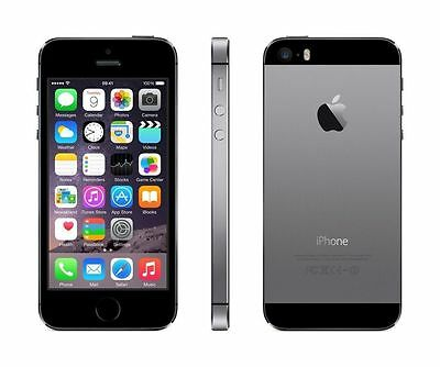 Apple iPhone 5S - 16GB - Gray - Unlocked - Smartphone