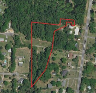 3- Acre Lot Vacant Land Zoned Residential in Pensacola Florida Panhandle
