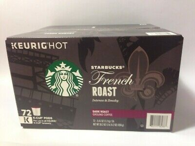 Starbucks French Roast Coffee K-Cups 72 ct-