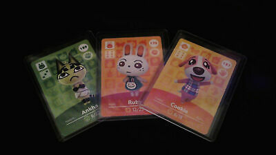 Animal Crossing Amiibo Card Series 2 Unscanned Individually Toploader - Sleeved
