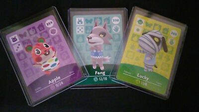 Animal Crossing Amiibo Card Series 4 Unscanned Individually Toploader - Sleeved