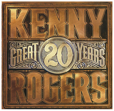 Kenny Rogers - 20 Great Years  CD • NEW • Best of Greatest Hits The Gambler