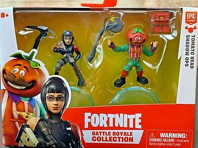 NEW Fortnite Battle Royale Collection Tomato Head Shadow Ops Action Figure Toys