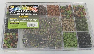 Wonder Loom Beads and Bands Green Camo