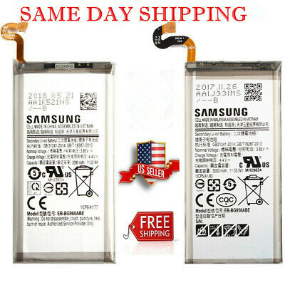 New For Samsung Galaxy S8 S8 Plus S9 S9 Plus Internal Battery Replacement USA