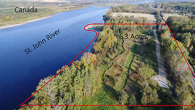 OWN 6-3 ACRES - OF LAND IN NORTHERN MAINE NEXT TO THE CANADIAN BORDER