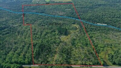OWN 109 ACRES - OF LAND IN NORTHERN MAINE NEXT TO THE CANADIAN BORDER