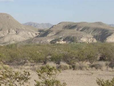 10 acres in Culberson County Texas rural land near Van Horn Mountains