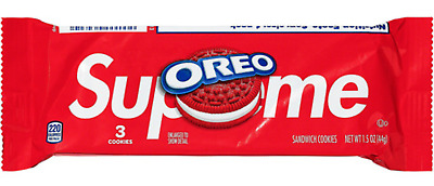 Supreme x Oreo Cookies CONFIRMED ORDER 100 Authentic