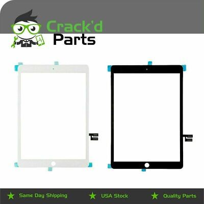Apple iPad 7 or 8 Replacement Digitizer Touch Screen - Home Button - Temp Glass